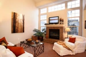 Remodeled living room, after, Agents for Home Buyers, Boulder, CO